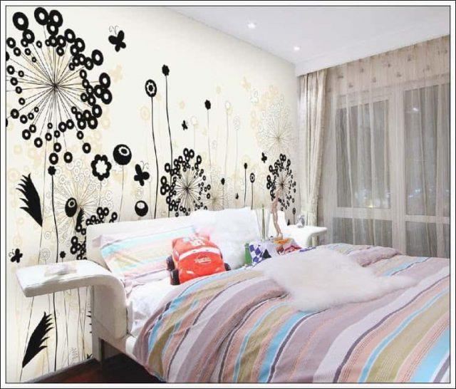 2 28 1 e1623308854715 - Vẽ tranh tường phòng ngủ đẹp ấn tượng
