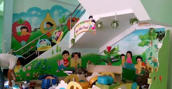 Dịch vụ Vẽ tranh tường Mầm Non