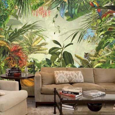 ve tranh tuong dep 1 400x400 - Vẽ tranh tường phòng khách đẹp