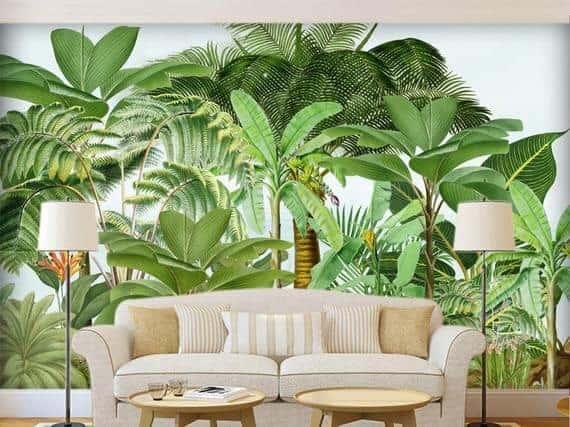 ve tranh tuong dep 5 - Vẽ tranh tường phòng khách đẹp