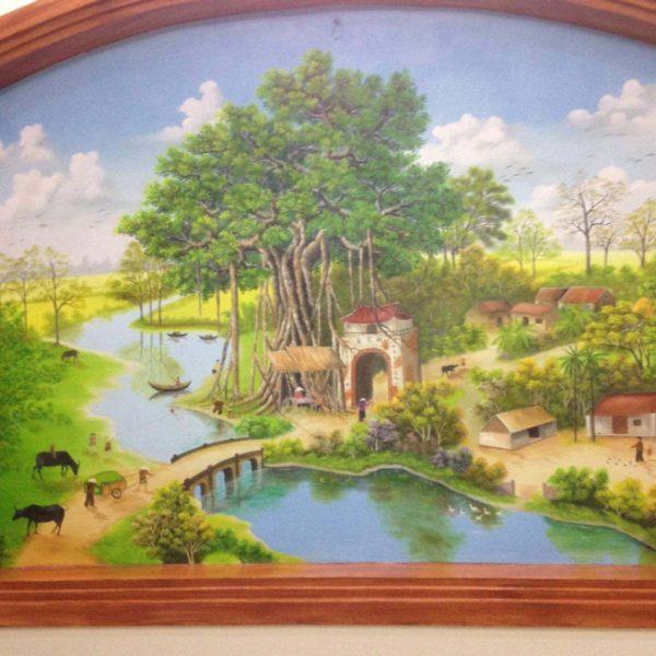 ve tranh tuong dep e1595228182575 - Vẽ tranh tường phòng khách đẹp