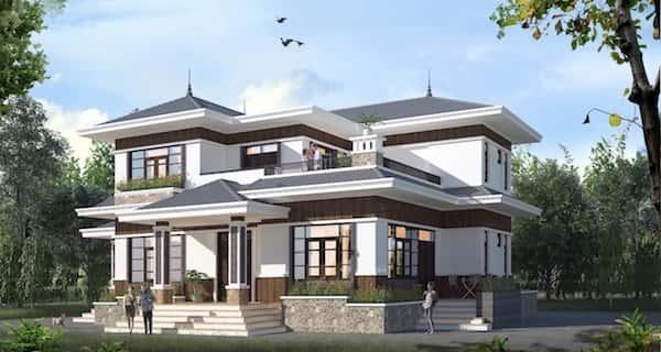 5e285dc13491dbcf8280 - 30 Mẫu thiết kế biệt thự với kiến trúc hiện đại đẹp