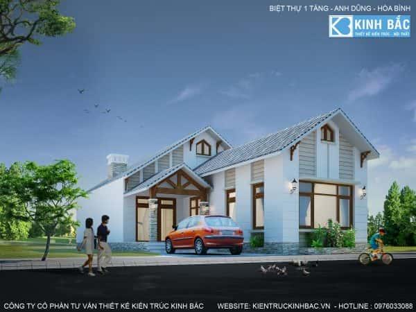 A dung hb1 e1471545244500 - 150 mẫu thiết kế biệt thự 1 tầng 4 phòng ngủ đẹp ngất ngây