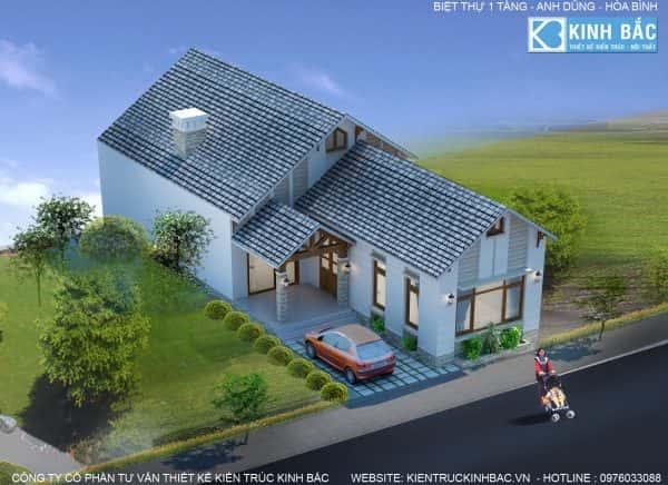 A dung hb2 e1471545217916 - Thiết kế nhà 1 tầng đẹp