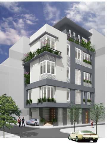 bang gia nha pho biet thu - Thiết kế nhà phố đẹp