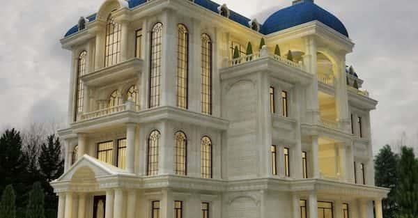 20 mẫu biệt thự 3 tầng kiểu Pháp đẹp và sang trọng nhất 2018