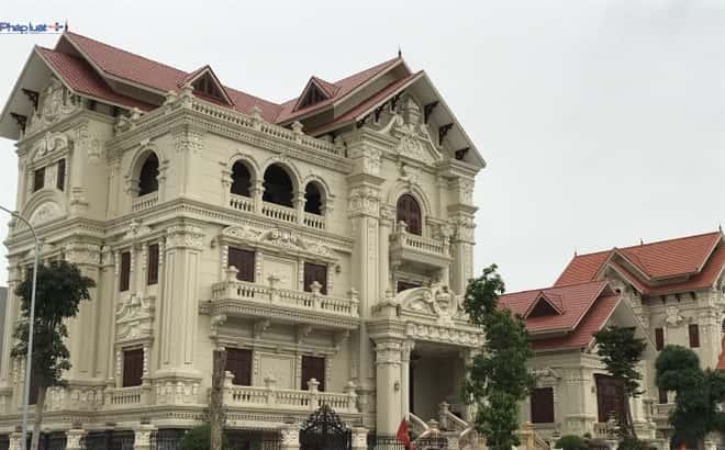 biet thu phap co dien dep - Thiết kế biệt thự 3 tầng đẹp