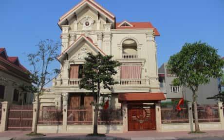 biet thu phap co dien - 150 Mẫu thiết kế biệt thự phố cổ điển đẹp ấn tượng