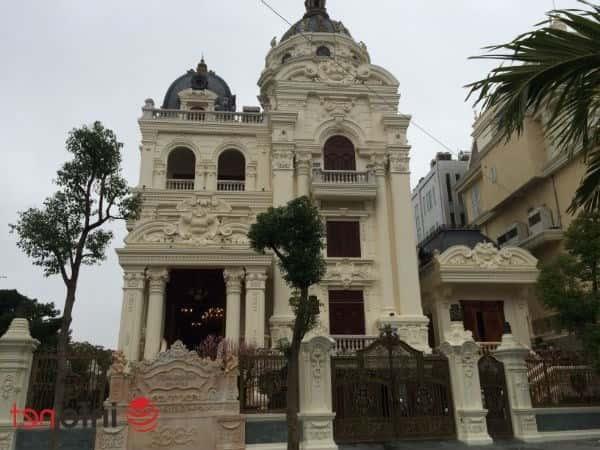biet thu phap dep - Thiết kế biệt thự Pháp