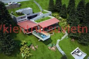 biet thu vuon dep 03 1 300x200 - Thiết kế biệt thự vườn với diện tích 250m2
