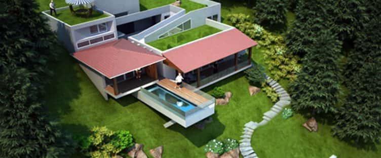 Thiết kế biệt thự vườn với diện tích 250m2