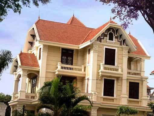 bt Phap 1 - Thiết kế biệt thự kiểu Pháp