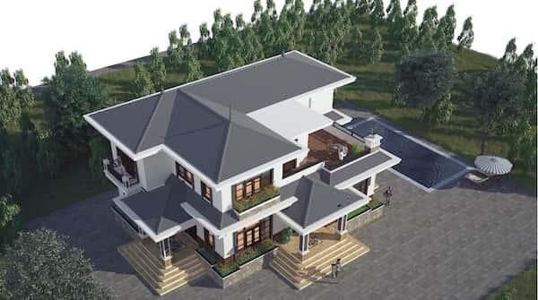 cfba77601e30f16ea821 - 30 Mẫu thiết kế biệt thự với kiến trúc hiện đại đẹp