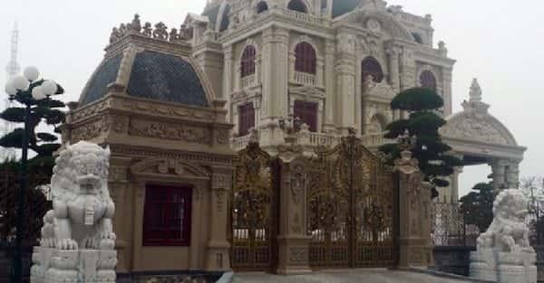 Mẫu thiết kế biệt thự đẹp ở Quảng Bình