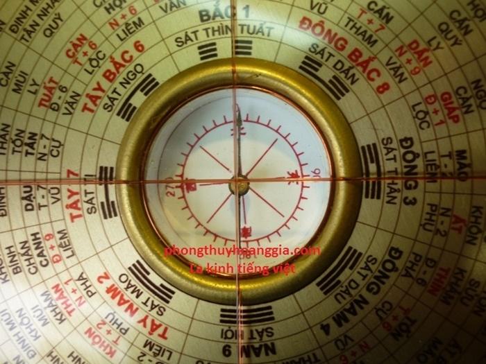 la ban phong thuy - Hướng dẫn cách sử dụng la bàn phong thuỷ trong việc xác định phương hướng