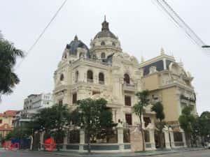 lau dai 2 mat tien 300x225 - Tư vấn mẫu thiết kế biệt thự đẹp ở Trà Vinh