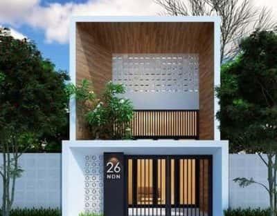 chi phí xây nhà 2 tầng 36m2
