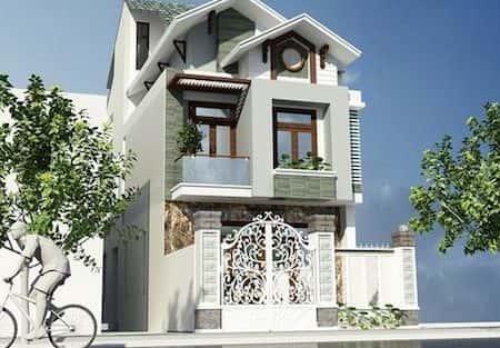 chi phí xây nhà 2 tầng 5x16m