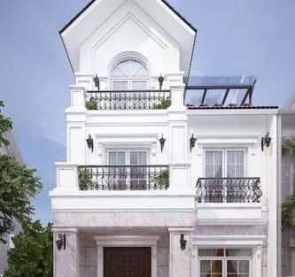 chi phí xây nhà 2.5 tầng