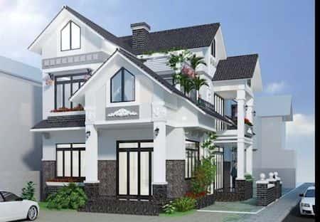 mau nha 2 tang dep 9 - 45 Mẫu nhà 2 tầng mái ngói đẹp được nhiều kts lựa chọn thiết kế