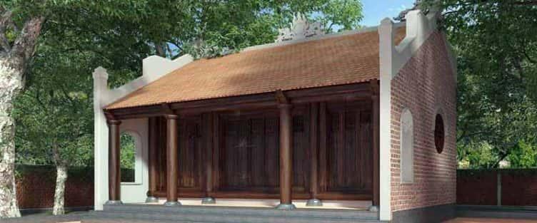 Thiết kế nhà thờ họ Vũ Hải Dương