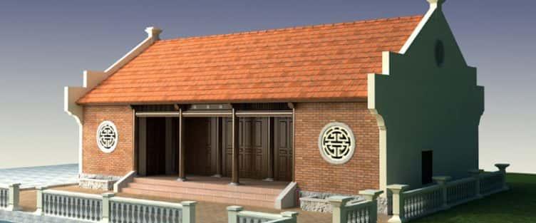 Thiết kế nhà thờ chi họ Phạm Hải Phòng