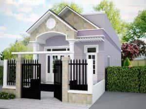 nha 1 tang dep 4 300x225 - Chi phí và dự toán xây nhà giá rẻ 500 triệu đẹp rẻ bất ngờ