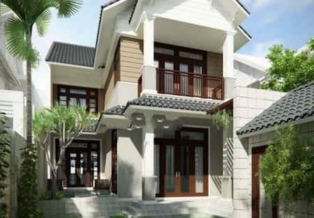 chi phí xây nhà 2 tầng 5×15