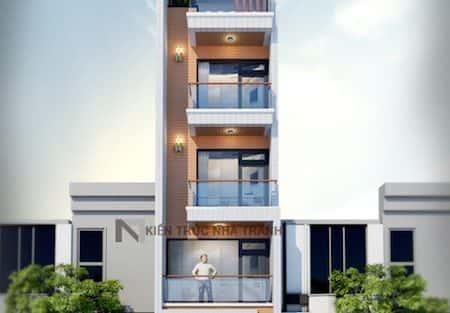 Thiết kế nhà 5 tầng diện tích 36m2