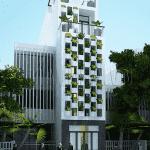 nha 5 tang dep 150x150 - Thiết kế nhà 5 tầng đẹp