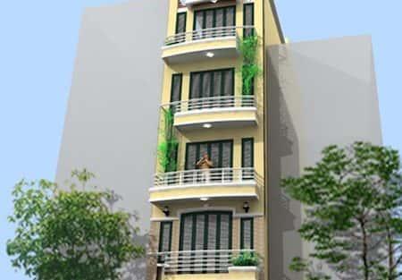 Xây nhà 5 tầng 5 phòng ngủ