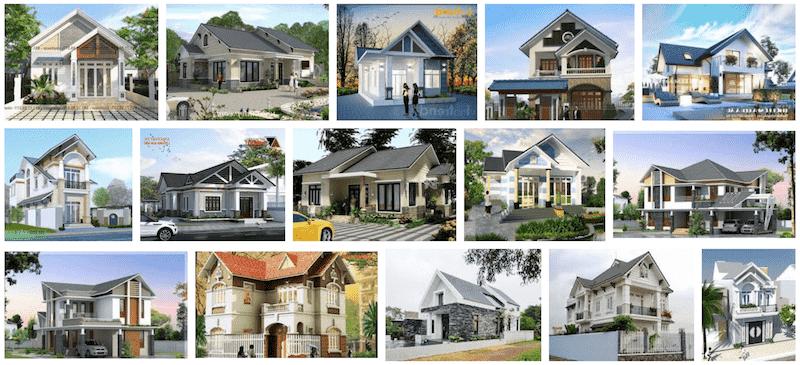 nha mai thai dep - Thiết kế nhà Hải Phòng | 1000 mẫu nhà đẹp phong cách ấn tượng