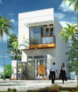 nha ong 2 tang nhà 2 tầng 5x15m 257x300 - Tư vấn thiết kế Nhà nhỏ 35 m2 theo phong thủy năm 2016