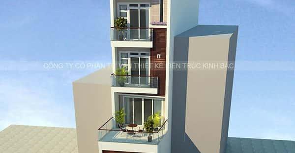Bộ sưu tập mẫu thiết kế nhà 5 tầng đẹp