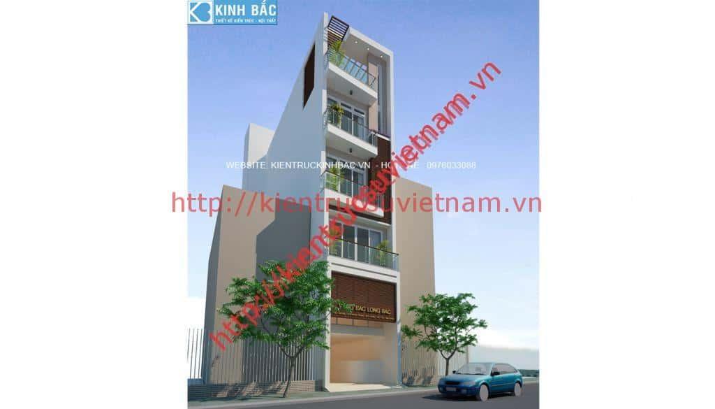 phoi canh 3 - Thiết kế nhà 5 tầng đẹp
