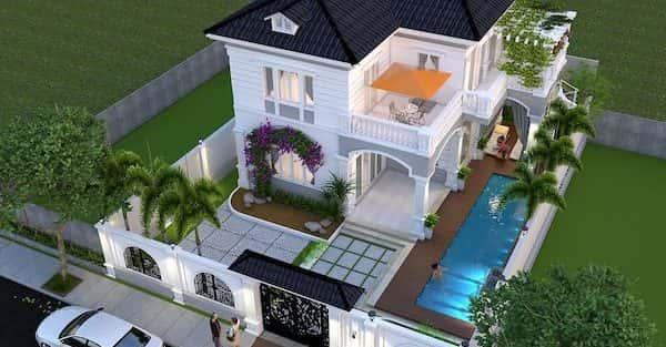 Thiết kế biệt thự 1 tỷ Đà Nẵng
