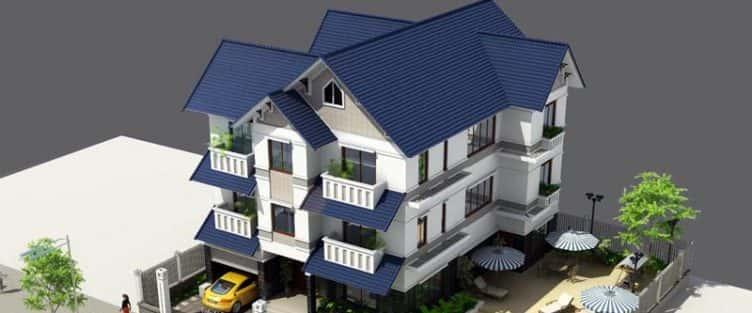 Bộ sưu tập mẫu thiết kế nhà mái thái đẹp