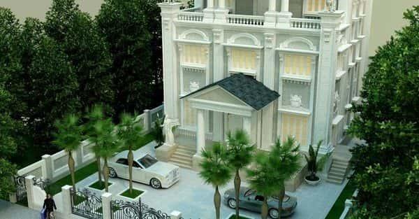 Bộ sưu tập 10 mẫu thiết kế biệt thự phong cách châu âu