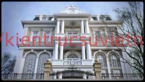 thiet ke biet thu co phap 03 300x169 - Thiết kế biệt thự tân cổ điển đẹp