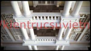 thiet ke biet thu co phap 05 300x169 - Thiết kế biệt thự tân cổ điển đẹp