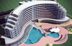 thiet ke khach san Fh2eE 300x192 - Những mẫu thiết kế khách sạn đẹp