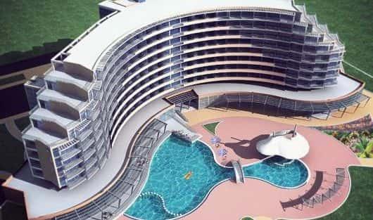 Thiết kế khách sạn tại Hạ Long