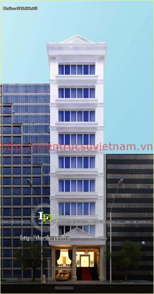 thiet ke khach san mini 00102 - Thiết kế khách sạn mini