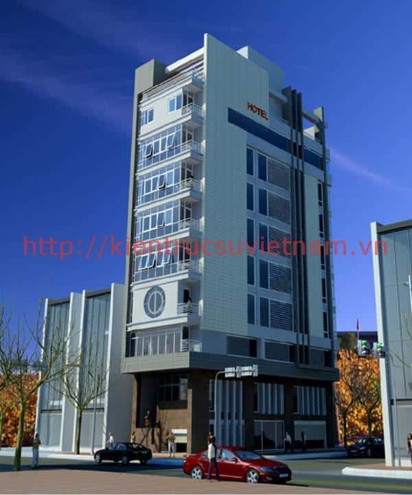 thiet ke khach san mini 0013 - Thiết kế khách sạn mini