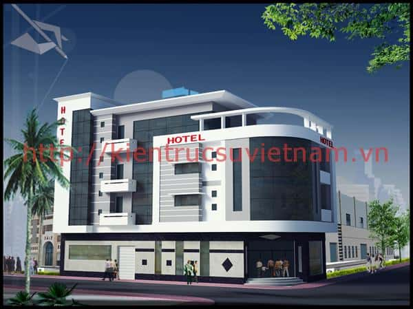 thiet ke khach san mini 001oip - Thiết kế khách sạn mini