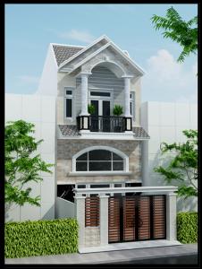 thiet-ke-nha-dep-2-tang-nhà 2 tầng 5x15m
