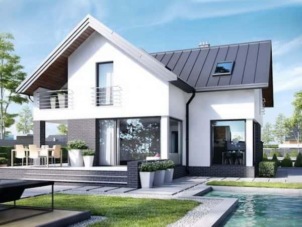 thiet ke nha mai thai 1 1 - Thiết kế nhà mái thái đẹp