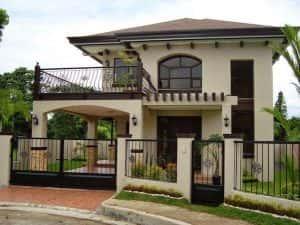thiet ke nha mai thai 3 300x225 - Thiết kế nhà mái thái đẹp