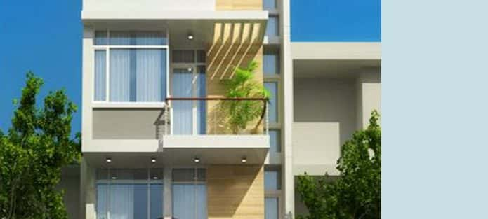 Tư vấn thiết kế nhà 4 tầng mặt tiền 7,5m đẹp