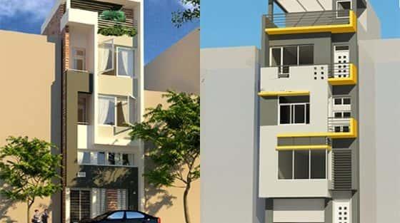 Bộ sưu tập mẫu thiết kế nhà 4 tầng đẹp